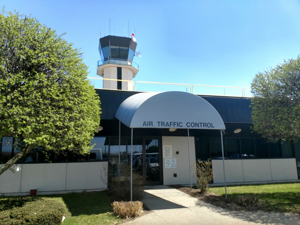 ATC tower in Providence airport