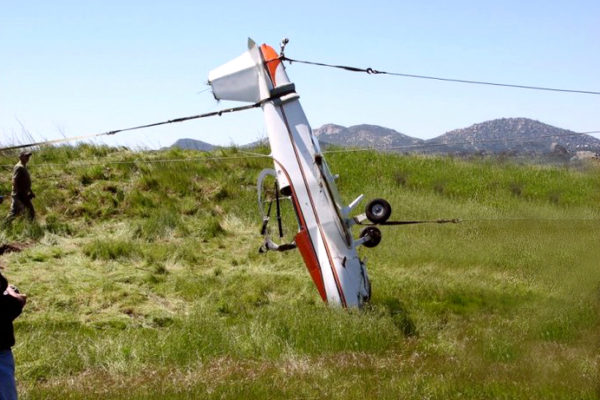 In 2018, an Embry-Riddle NASA airplane was involved in a crash after an AOPA EAA drone (UAS, Unmanned Aerial System) collided mid flight. The FAA ground school that offered flight training to the student pilot flying the plane in a Cessna. He would have earned his pilot license in 2019. He was wearing David Clark aviation headsets, according to the NTSB. The pilot will speak at the 2019 EAA Oshkosh Airventure event during the aeronautic expo about the hazards of operating drones near airports. The ATC communication heard from the tower during the attempted landing can be found online.