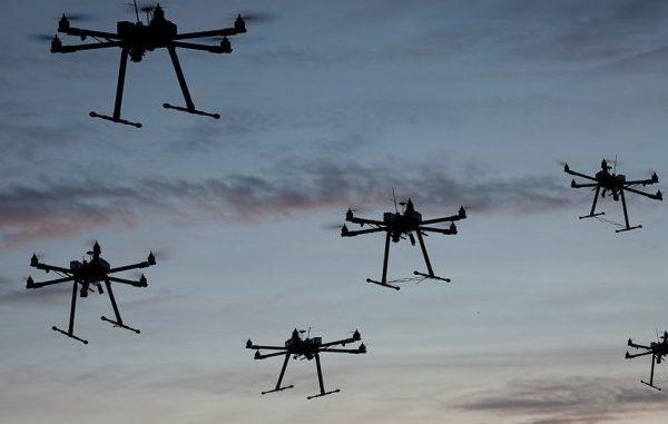 drones flying back home for summer